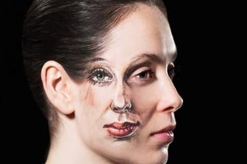 Kinh ngạc loạt tranh 3D vẽ trên cơ thể sống động như thật