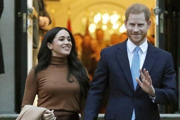 Vợ chồng Hoàng tử Harry bất ngờ được trao giải thưởng đặc biệt