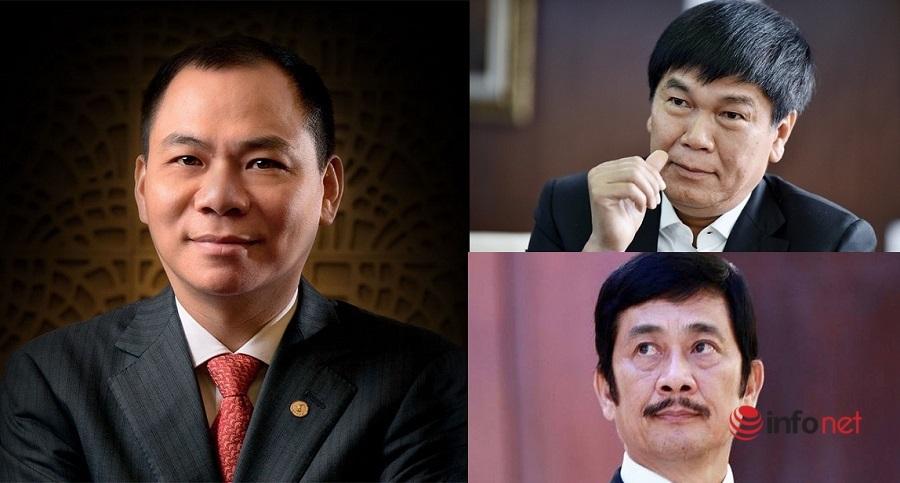 tỷ phú,người giàu nhất sàn chứng khoán,Phạm Nhật Vượng,Trần Đình Long,Bùi Thành Nhơn,tỷ USD