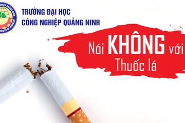 Trường đại học tiếp tục thực hiện khẩu hiệu 'nói không với thuốc lá'