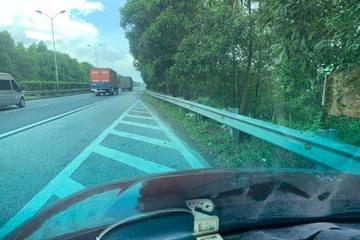 Đang lái xe buồn ngủ, đỗ vào đường cứu nạn cao tốc tạm nghỉ, có đúng luật?