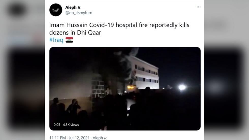 covid-19,bệnh viện,hỏa hoạn