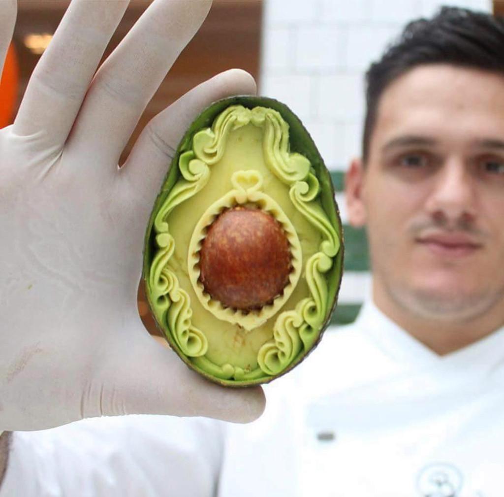 Hô biến trái cây thành tác phẩm nghệ thuật đẹp mắt, nhìn vào không nỡ ăn