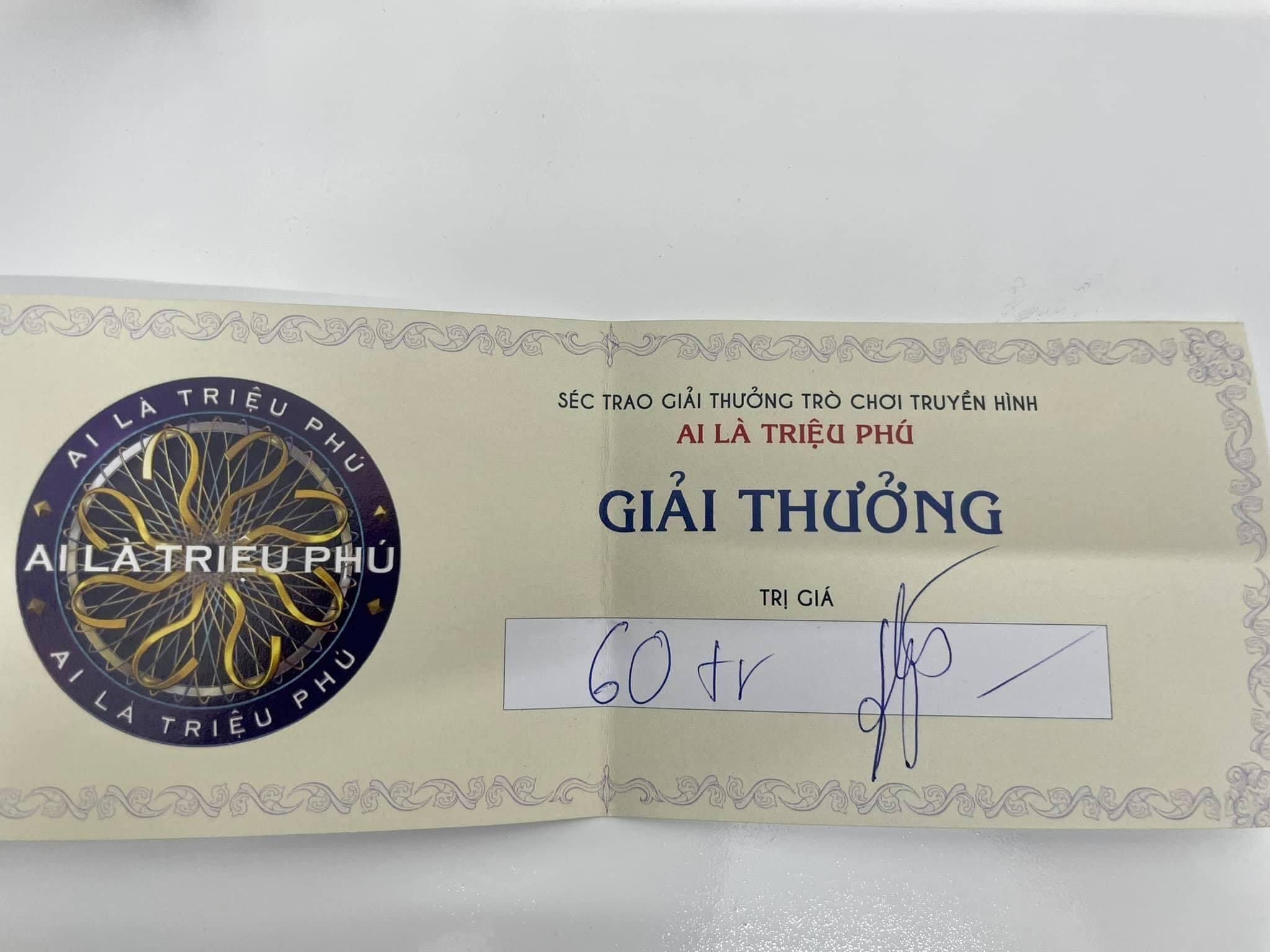 Việt Anh vượt qua câu hỏi 13 'Ai là triệu phú': 'Tham gia chương trình tôi áp lực lắm, nghĩ giỏi thì được 20 triệu!'