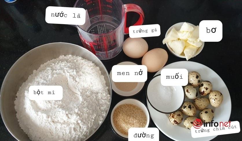 Cách làm bánh mì tổ chim hấp dẫn trẻ nhỏ