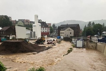 Đức: Ngập lụt nghiêm trọng làm vỡ đê, 36 người chết và mất tích
