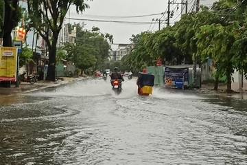 Mưa rải rác ở các khu vực, Tây Nguyên và Nam Bộ đề phòng mưa rất to