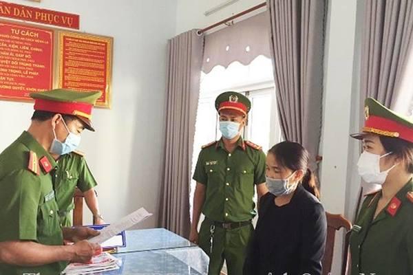 Quảng Nam: Bắt tạm giam nữ cán bộ xã lừa đảo hơn 5 tỷ đồng