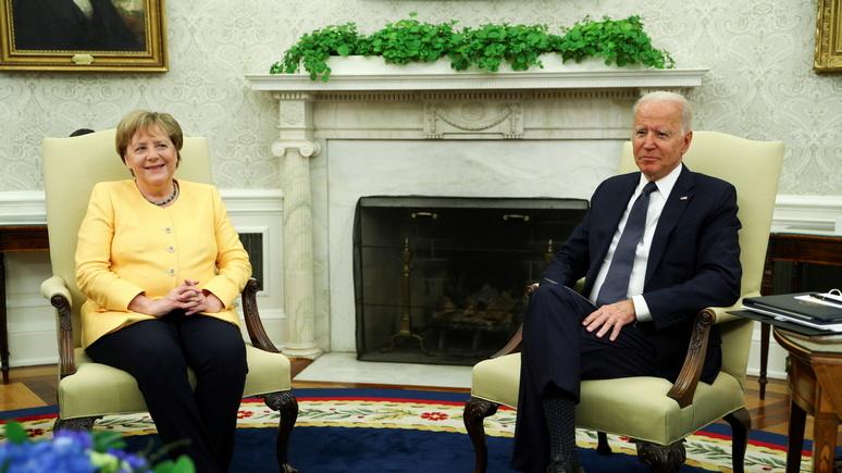 'Cuộc họp chia tay' của bà Merkel với ông Biden diễn ra thế nào?