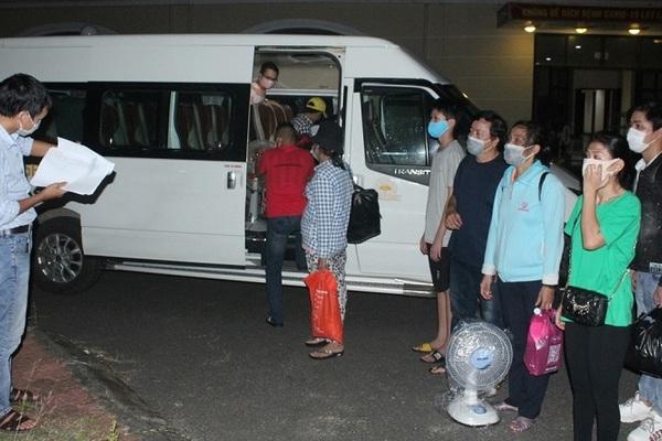 Thừa Thiên Huế: Đón người dân từ TP.HCM về quê bằng tàu hỏa