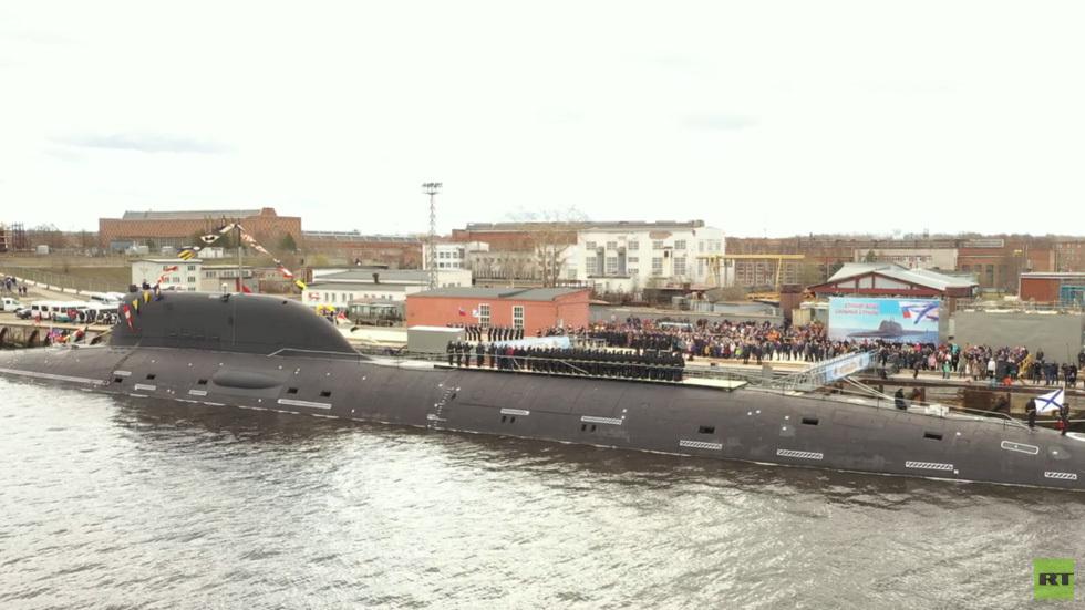 Nga,tàu ngầm,Liên Xô,Kazan,lớp 885M,Severodvinsk