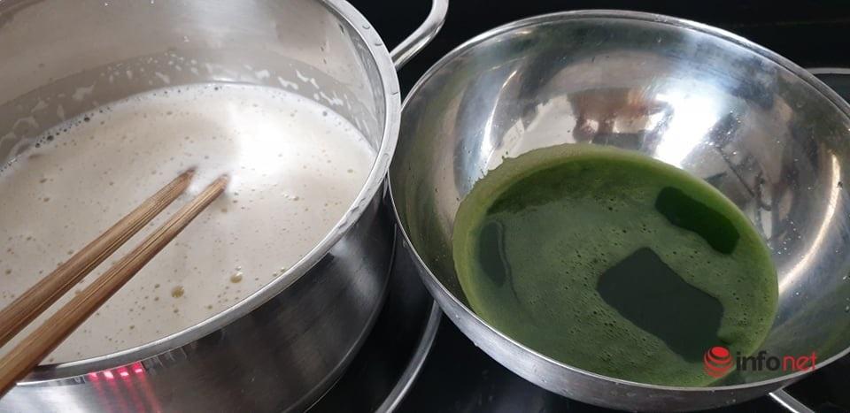 sữa hạt,sữa đậu xanh lá nếp