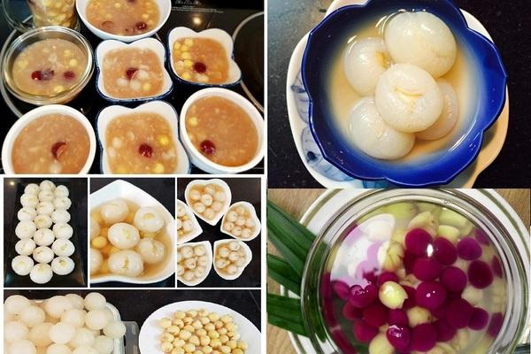 Ba món chè hạt sen thơm ngon bổ dưỡng mùa hè