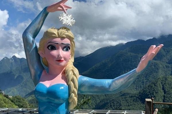 Dân mạng 'hết hồn' khi thấy Elsa ở Sapa