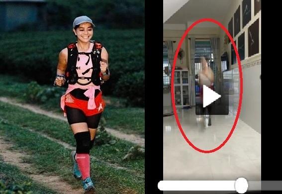 Tuân thủ giãn cách xã hội, cô giáo Yoga chạy 38km trong nhà mừng sinh nhật tuổi 38