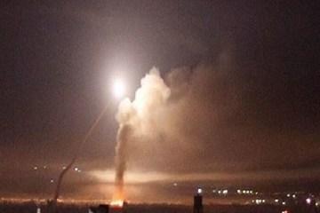 Israel phóng tên lửa vào lãnh thổ Syria trong đêm