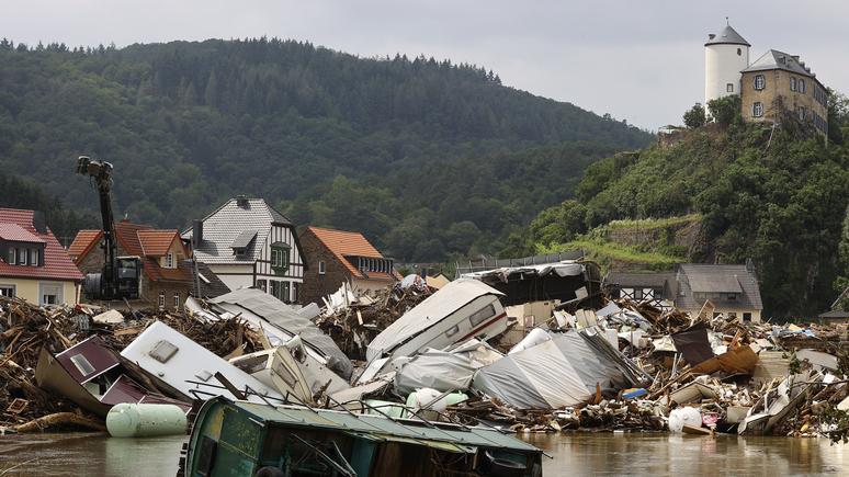 lũ lụt,Đức
