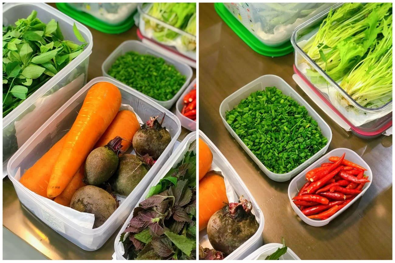 bảo quản thực phẩm,bảo quản,giữ rau tươi