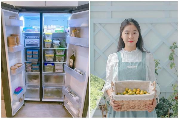 """Cô vợ 9X chia sẻ cách bảo quản thực phẩm """"đỉnh của chóp"""" cả tuần vẫn tươi ngon"""