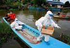 Thái Lan siết chặt đi lại giữa các tỉnh do có hơn chục nghìn ca Covid-19 mỗi ngày