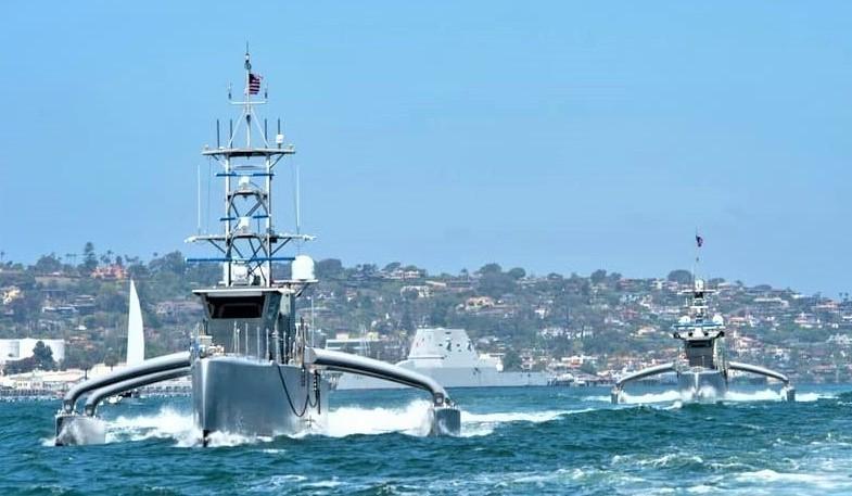 Mỹ,Nga,Hải quân,tàu mặt nước không người lái