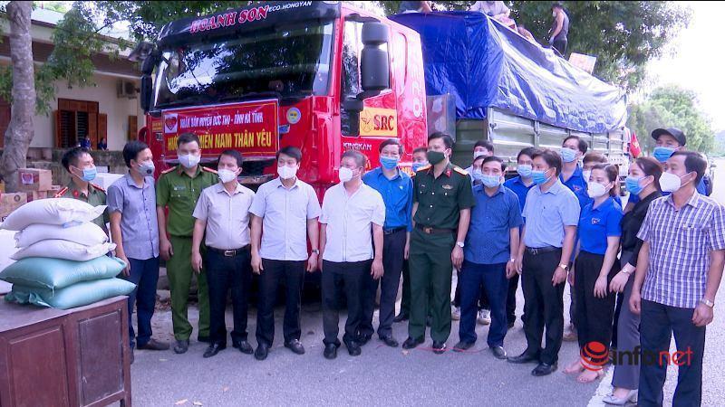 hỗ trợ,TP.HCM,Chỉ thị 16,giãn cách xã hội,Hà Tĩnh,ủng hộ,phòng chống dịch