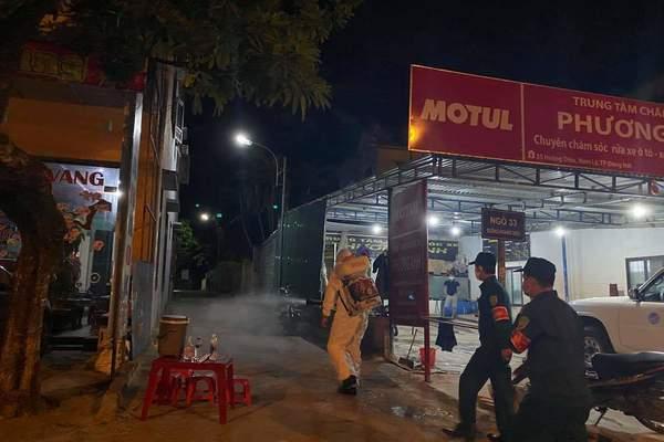 Quảng Bình: Tài xế taxi dương tính, thành phố Đồng Hới giãn cách theo Chỉ thị 15