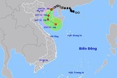 Áp thấp nhiệt đới cách Quảng Ninh 40km, Bắc Bộ mưa rất to