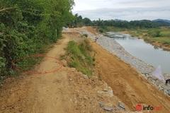 Hà Tĩnh: Sạt lở bờ sông Ngàn Sâu cần được khẩn trương khắc phục