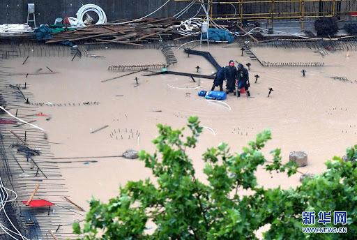 Siêu UAV Dực Long khắc phục hậu quả mưa lớn ở Hà Nam, Trung Quốc