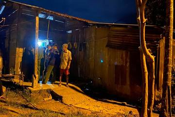Tai nạn trong hầm vàng, hai công nhân thương vong