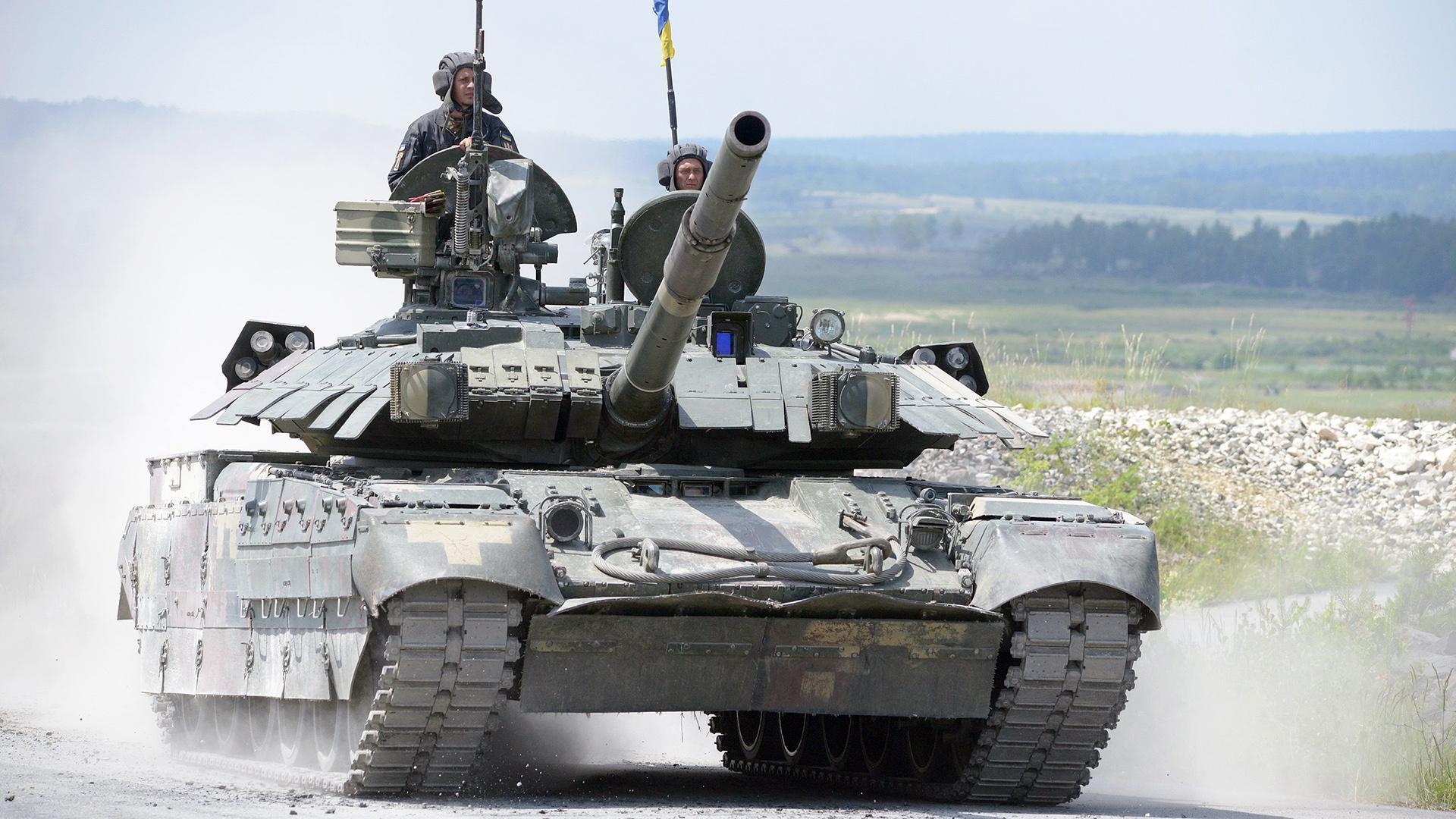 Ukraine,tập trận