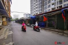 Hơn 2000 gian hàng chợ Đồng Xuân đóng cửa, TTTM phủ bạt dài ngày chống dịch