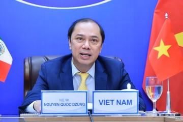 Việt Nam-Mexico nhất trí thúc đẩy đàm phán một số hiệp định, thỏa thuận