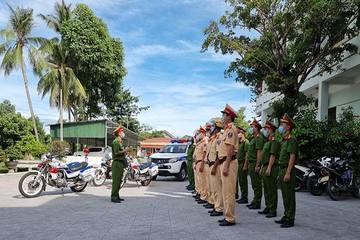 Huế: CSGT đồng loạt ra quân tuần tra kiểm soát, xử lý vi phạm giao thông đường bộ