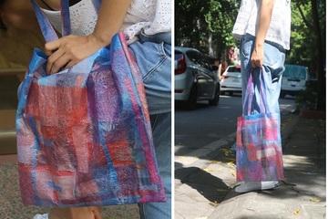 Hot mạng: Cô gái biến túi nilon cũ thành túi xách sành điệu bằng cách rất đơn giản