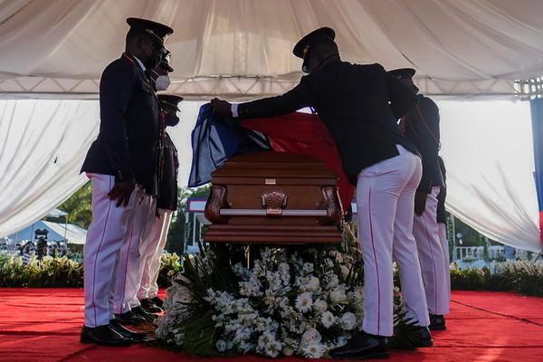 tổng thống haiti,ám sát,lễ tang