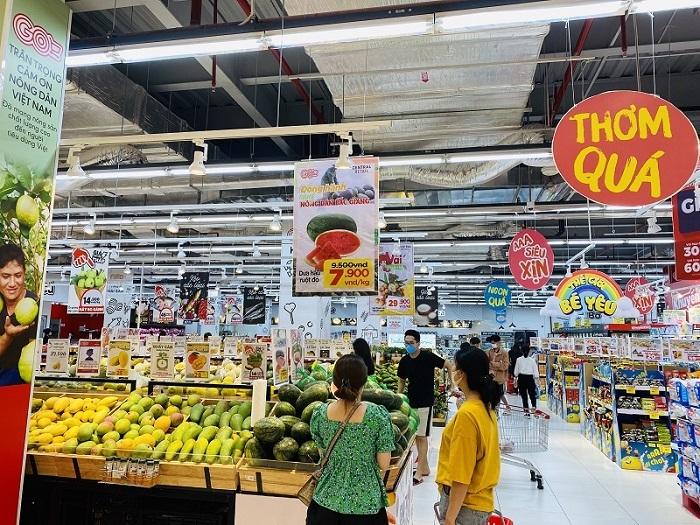 Giãn cách xã hội,siêu thị Hà Nội,Hàng hóa