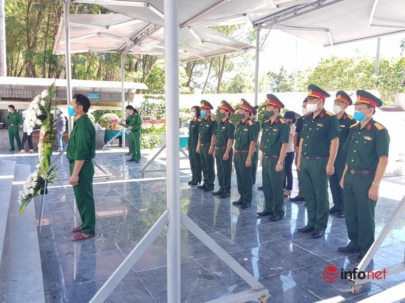 Khu tưởng niệm TNXP Ngã ba Đồng Lộc vắng vẻ ngày 27/7 nhưng vẫn ấm áp tình quân dân