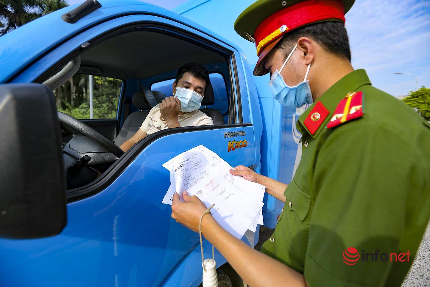 Hà Nội,Phiếu ra đường,Thẻ đi chợ,Chỉ thị 16,Giãn cách