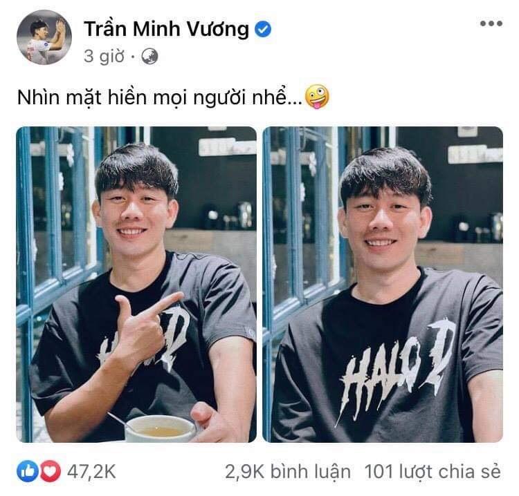 Bùi Tiến Dũng 'chấm' điểm 10 cho gương mặt hiền khô của người anh em Minh Vương