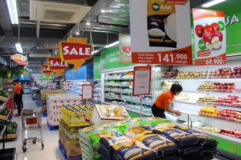 Khách yên tâm ngồi yên 1 chỗ, việc đi chợ đã có siêu thị lo!