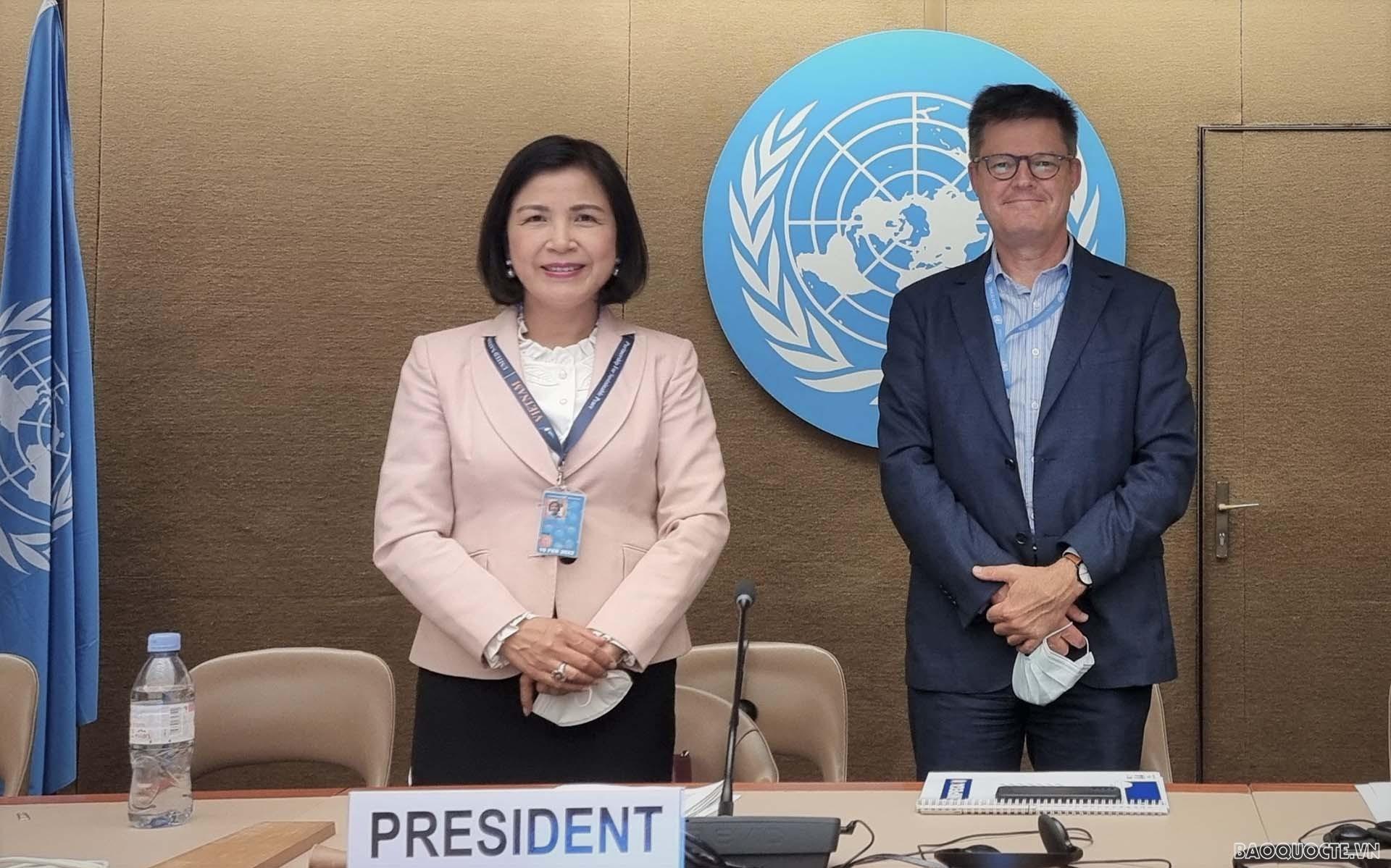 Việt Nam đảm nhận Phó Chủ tịch Phiên họp lần thứ 5 Nhóm chuyên gia liên chính phủ của UNCTAD về luật và chính sách bảo vệ người tiêu dùng