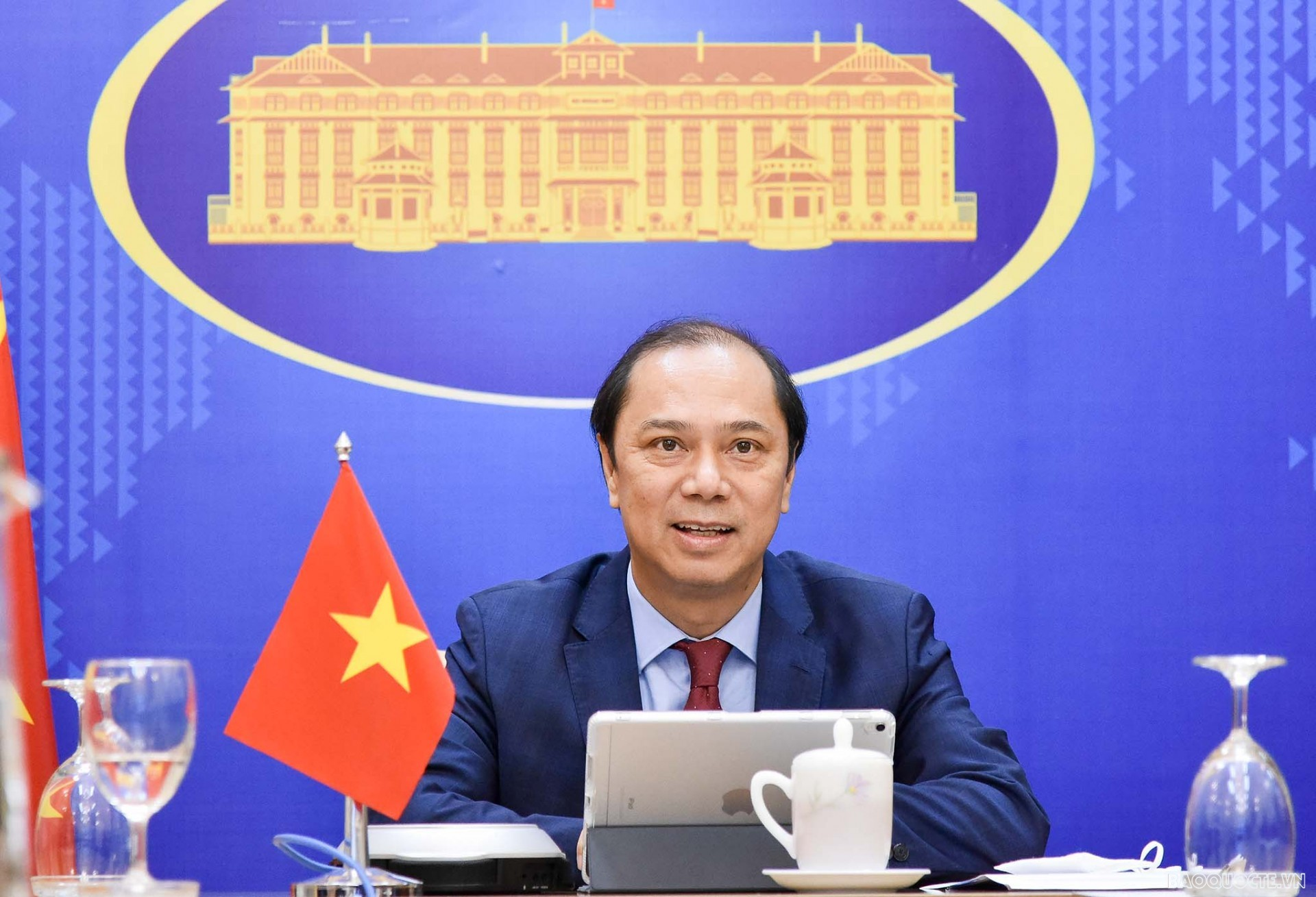 Việt Nam phát biểu tại phiên Khai mạc Hội nghị kinh doanh Ấn Độ Dương-Thái Bình Dương năm 2021