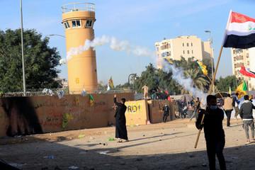 Đại sứ quán Mỹ bị rocket tấn công sau thông báo dừng sứ mệnh chiến đấu ở Iraq
