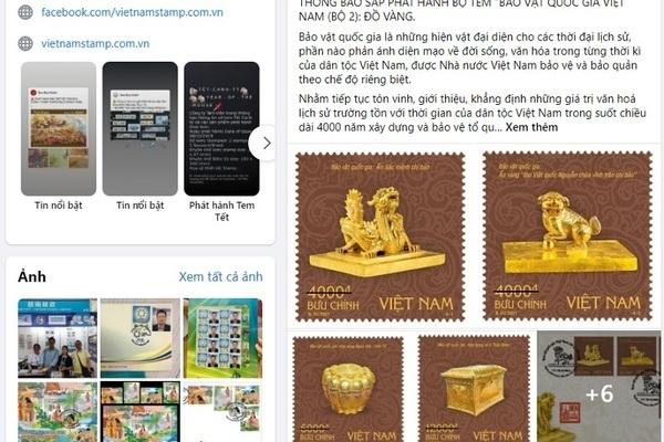 Quảng bá hình ảnh Phật giáo trên tem bưu chính về bảo vật quốc gia
