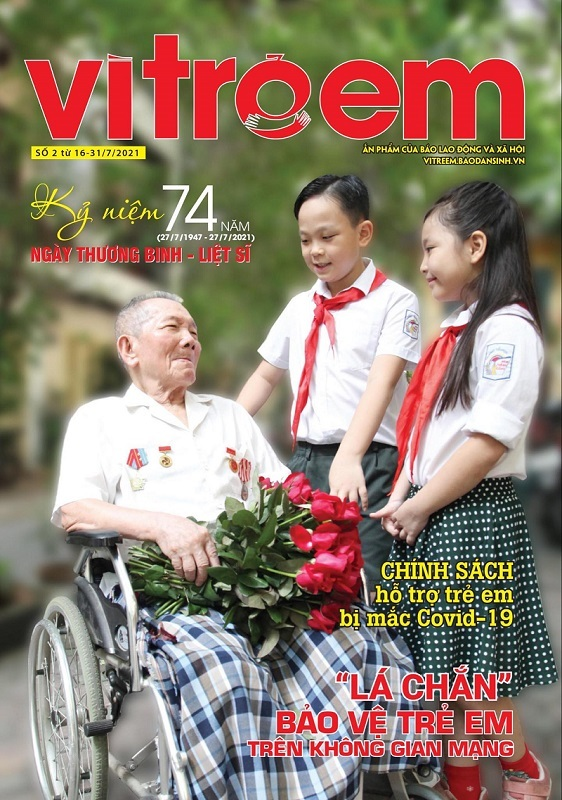 Ra mắt ấn phẩm 'Vì trẻ em' – diễn đàn dân sinh bảo vệ, chăm sóc trẻ em