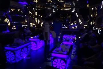 'Thánh chửi' vào Ninh Bình bay lắc trong quán karaoke bị công an bắt quả tang