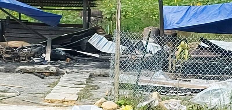 Cháy nhà trong đêm, 2 vợ chồng tử vong