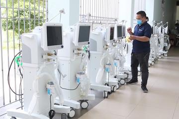 Chuyến tàu đặc biệt mang nhiều trang thiết bị y tế hiện đại chi viện cho Thành phố Hồ Chí Minh